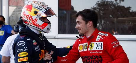 Leclerc grijpt pole na 'stomme kwalificatie' vol crashes, Verstappen start als derde