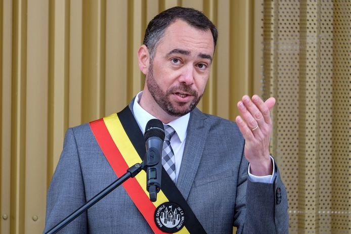 Maxime Prévot, bourgmestre de Namur