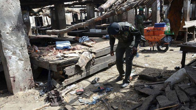 Bij een aanslag op een markt in dezelfde stad kwamen deze zomer tientallen mensen om het leven Beeld afp