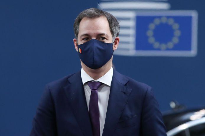 Alexander De Croo avait rencontré Emmanuel Macron jeudi dernier à Bruxelles lors du sommet européen