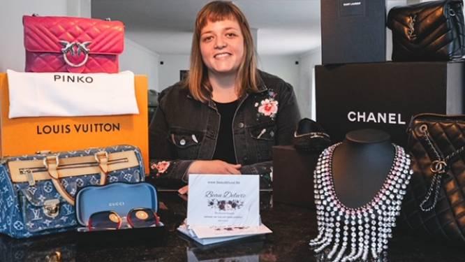 Michelle verkoopt preloved designerstukken op webshop Beau Deluxe