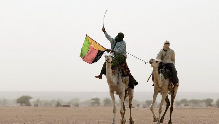 Toearegs in Kidal, in het noorden van Mali. Beeld afp
