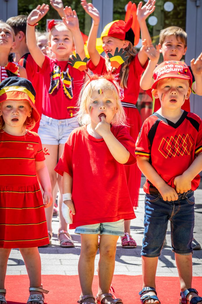 Red Challenge in Lommel  schooltje in Kattebos