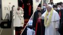 Paus Franciscus is vrijdag als eerste paus ooit aangekomen in Irak voor zijn vierdaagse bezoek. Het is de eerste buitenlandse trip voor Franciscus tijdens de coronapandemie