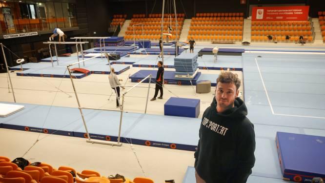 Bart Deurloo roemt nieuwe turnhal in het Topsportcentrum: 'Faciliteiten de hemel voor turners'