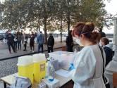 Un centre de tests rapides installé place Poelaert pour relancer les nuits bruxelloises