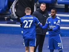 Timothy Castagne sort sur blessure, première défaite de l'année pour Leicester