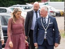 Koningin Máxima in Almelo voor lancering Schuldenlab
