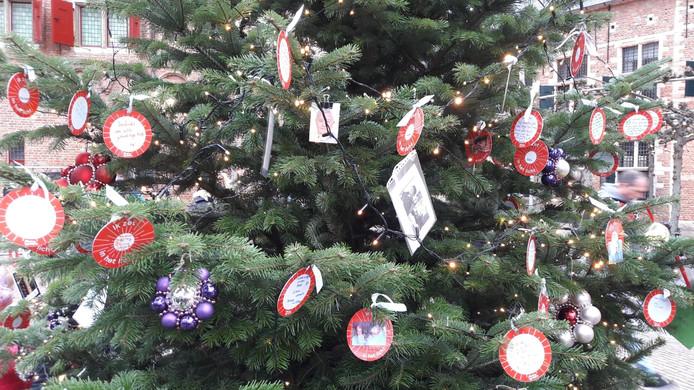 Joris' Kerstboom in Middelburg zaterdagmiddag.
