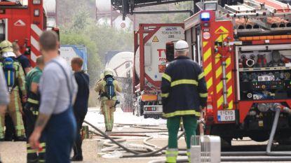 Arbeider verbrand bij steekvlam op chemisch bedrijf