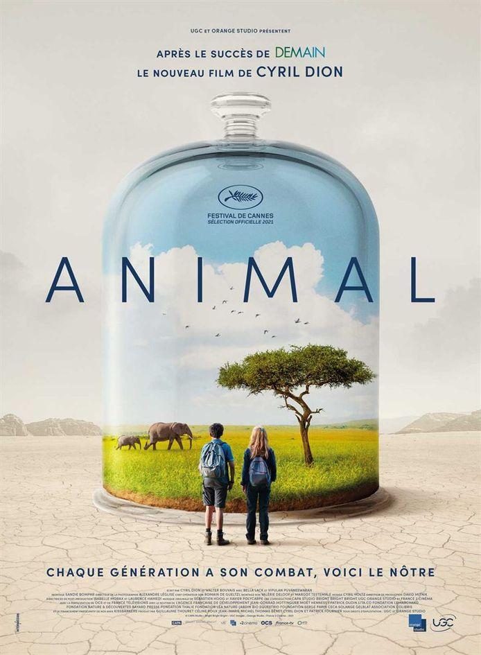 """L'affiche du film """"Animal"""" de Cyril Dion."""