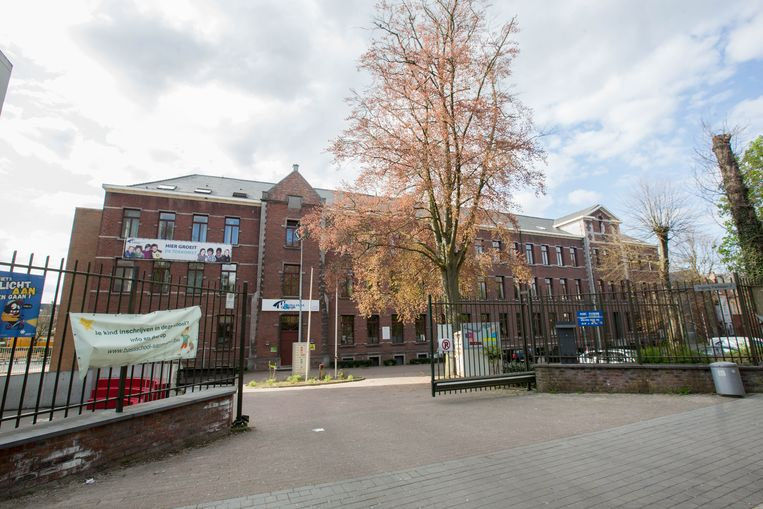 """Bij het Heilig-Hart&College in Halle willen ze niet reageren. """"Dat zullen we in de rechtbank doen."""""""