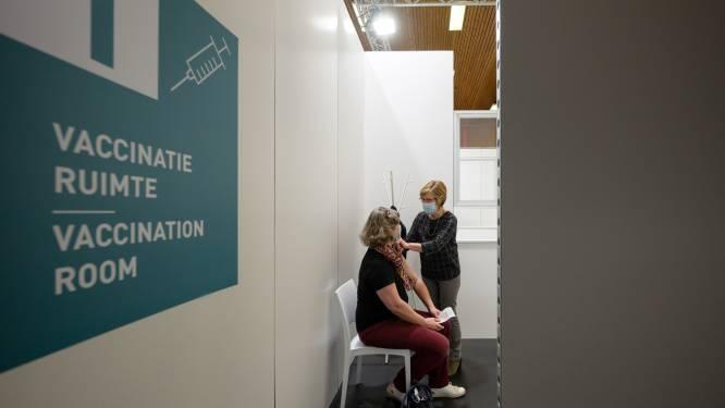 Van 1.600 vorige week naar 3.500 vaccins deze week: beide vaccinatiedorpen openen alle vier de vaccinatielijnen