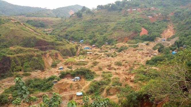 Minstens 50 doden bij instorting goudmijn in Congo