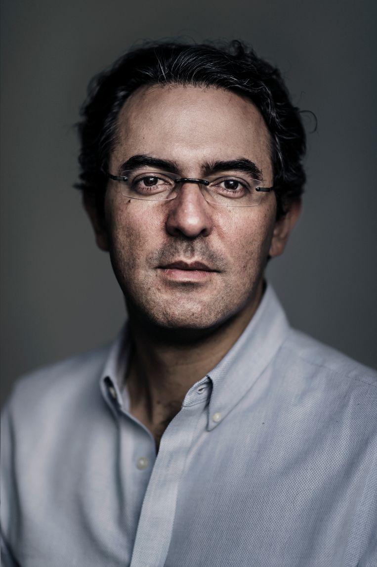 Juan Gabriel Vásquez. Beeld Karoly Effenberger