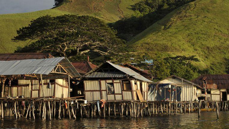 De kust van Papoea-Nieuw-Guinea. Beeld anp