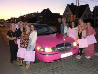 Winkelen in stijl: damesboetiek zet roze limousine in voor avondje shoppen