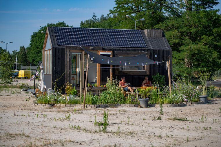 Natasja Oosterloos tiny house Beeld Peter Hermeling