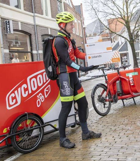 Zalando gaat in Arnhem en Nijmegen bestellingen per bakfiets bezorgen