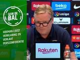 Koeman in statement: 'Steun ons in woord en daad'