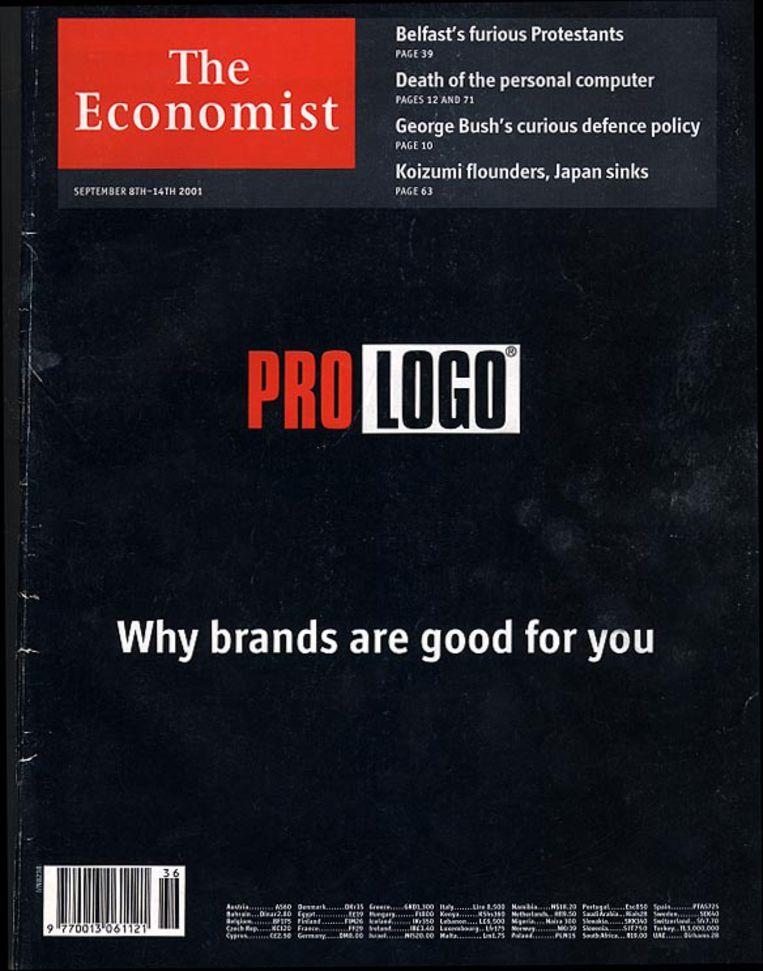 Omslag weekblad  The Economist, 8 september 2001. Beeld The Economist
