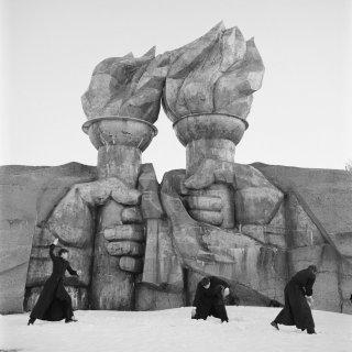 Op de grootste filmset aller tijden stond een complete Sovjetstad