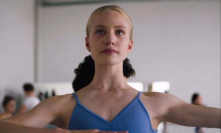 'Girl' van Lukas Dhont met acteur Viktor Polster. Beeld RV