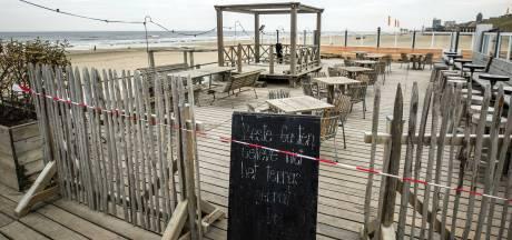 Strandtenthouders hopen op terrasbediening