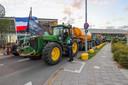 Boze boeren bij Eindhoven Airport.
