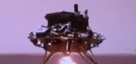 Grande première: la Chine est parvenue à poser un petit robot sur Mars