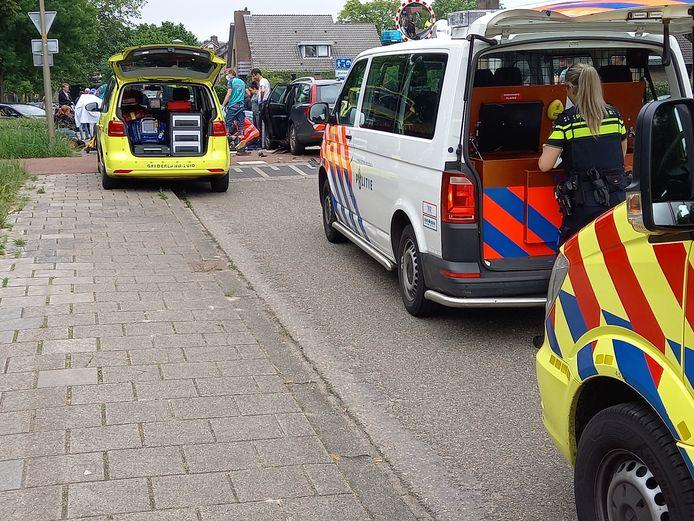 De hulpdiensten waren snel ter plaatse bij het ongeluk in Groesbeek