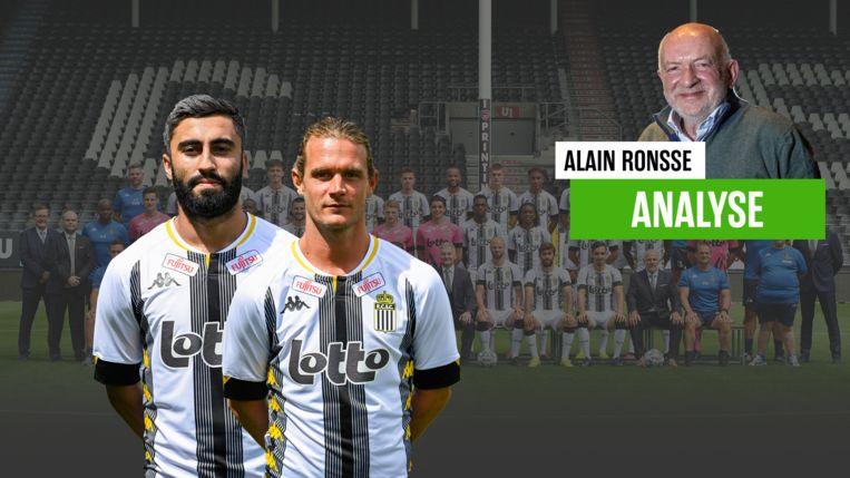 Rezaei en Gillet: twee van de blikvangers bij Charleroi dit seizoen.