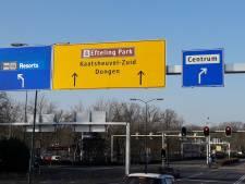 Geen files meer naar de Efteling door verkeersregelaars en wisselstroken op de Europalaan