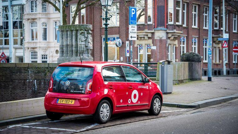Amsterdam telt met ruim 7000 stuks de meeste deelauto's. Beeld anp