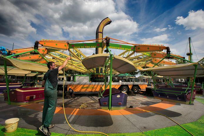 Geen grote attracties dit jaar in het centrum van Valkenswaard. In plaats daarvan komt er in juli wel een zomerkermis.
