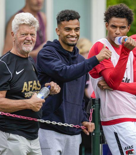 Wijndal eindelijk fit en direct aanvoerder bij AZ: 'Dit is een goede ontwikkeling voor hem'