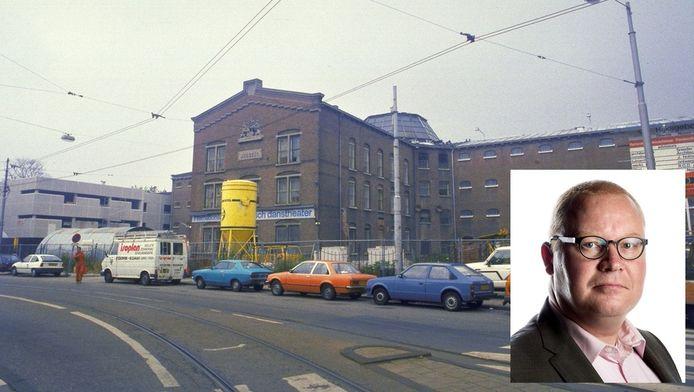 Archiefbeeld van de gevangenis aan de Havenstraat, inzet: Roland van Vliet