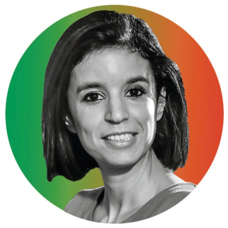 Nadia Sminate: 'Ik blijf erbij dat ik heb gezegd wat de onderstroom in Vlaanderen denkt.' Beeld rv