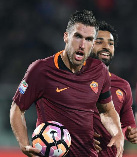 Strootman wijst AS Roma de weg tegen degradant