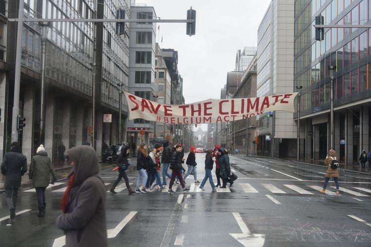 Klimaatmars in Brussel