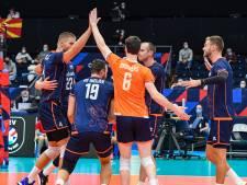 Volleyballers verslaan op EK ook Noord-Macedonië