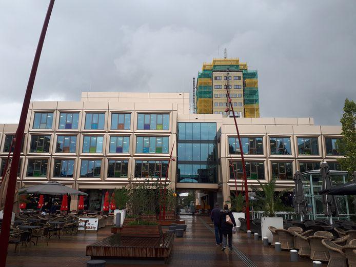 Het Stadhuisplein in Zoetermeer