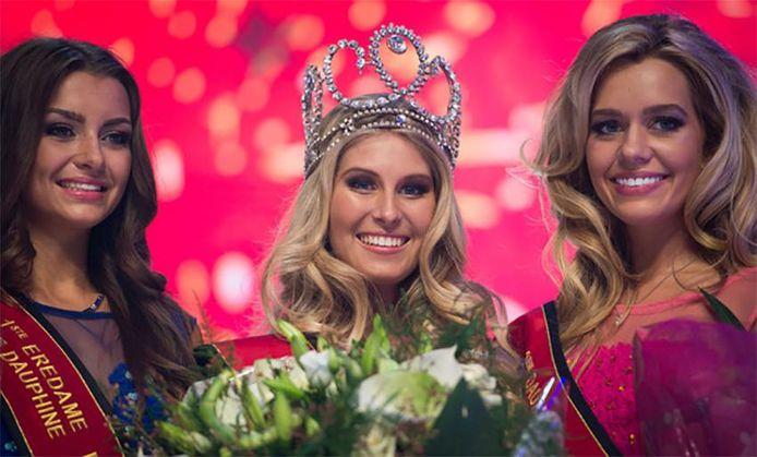 Lenty Frans a été couronnée Miss Belgique en 2016.