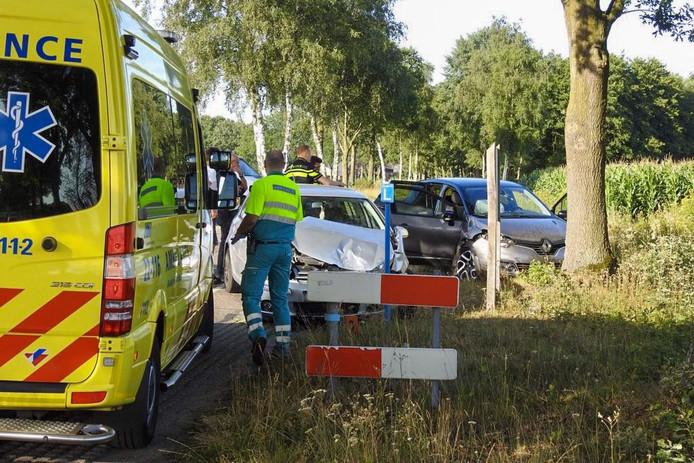 Ongeval op de kruising Berkterbeemden met de Puttendijk in Bergeijk.