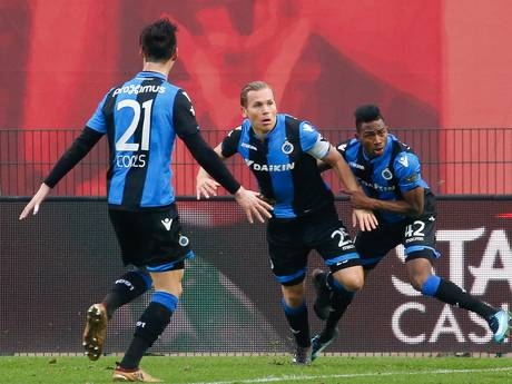 Vormer redt punt voor koploper Club Brugge