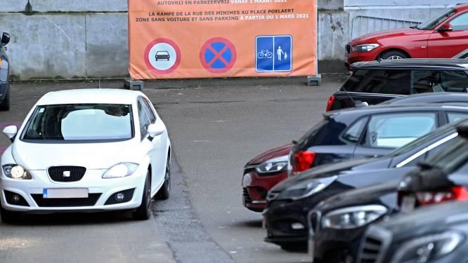 Touring waarschuwt dat schrappen van 65.000 parkeerplaatsen Brussel verder zal isoleren