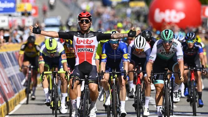Caleb Ewan snelste van het pak in derde etappe Baloise Belgium Tour, Evenepoel blijft leider