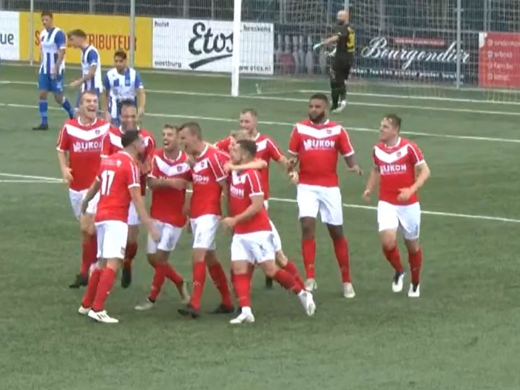 Hoogtepunten van wedstrijd Hoek - Harkemase Boys