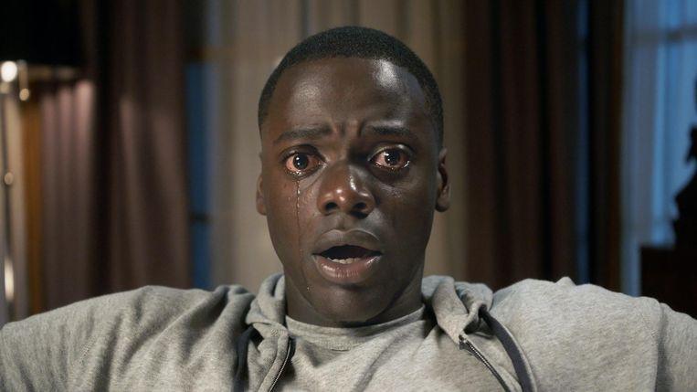 Daniel Kaluuya in Jordan Peeles Get Out. Beeld