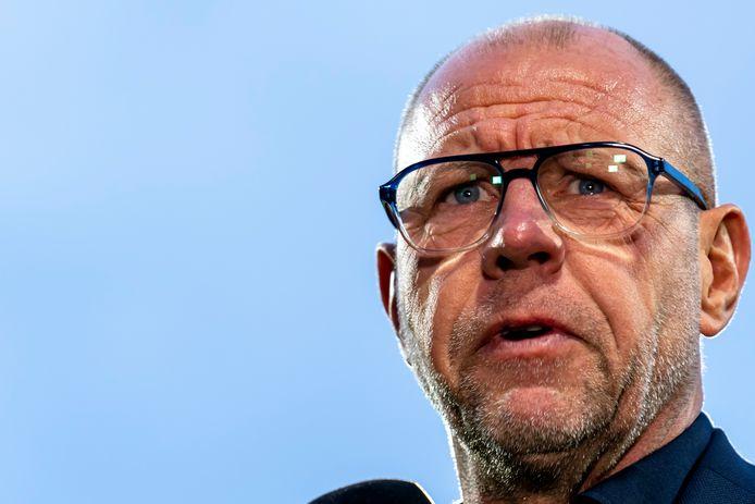Willem II-trainer Fred Grim.